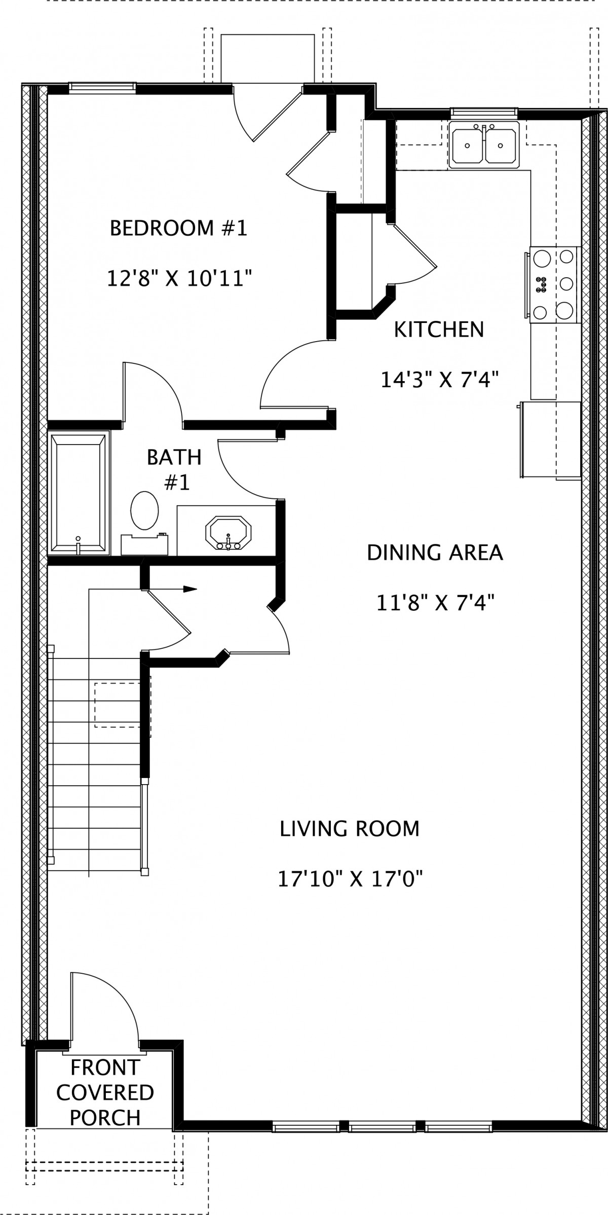 Twin Forks Townhomes Interior Unit