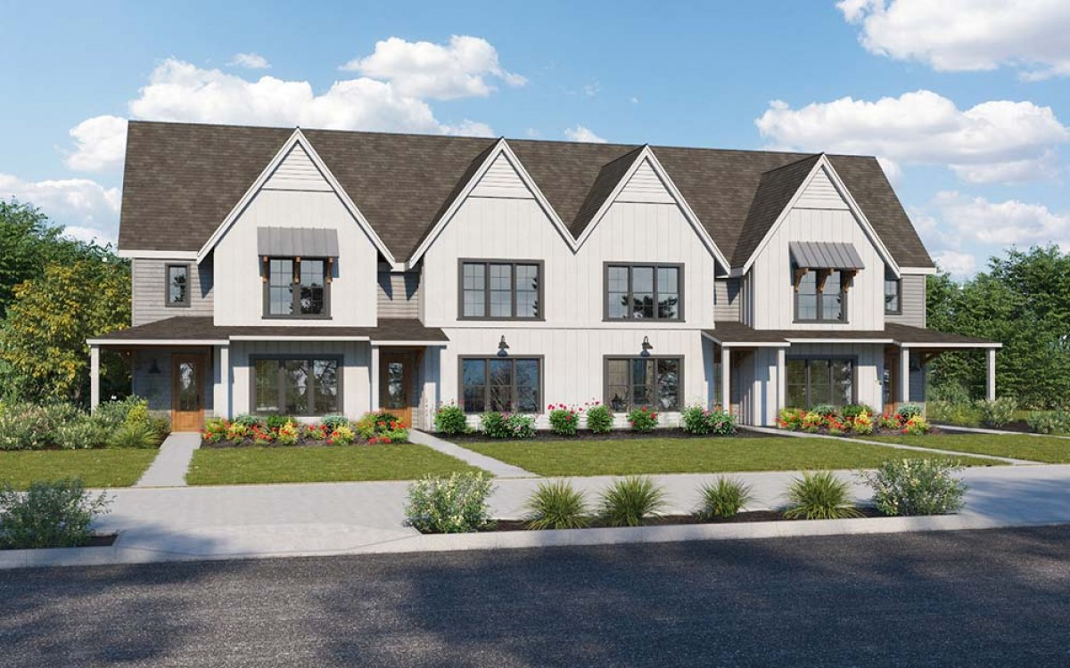 Twin Forks Townhomes - Exterior Unit